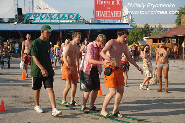 Всеукраинский чемпионат  пивных видов спорта - фоторепортаж из Судака